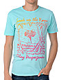 Obey Soak Up The Rays Turquoise T-Shirt