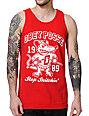Obey Stop Snitchen Red Tank Top