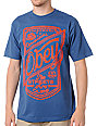 Obey Streets Are Ours Blue T-Shirt