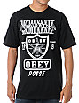 Obey Super Brawl Black T-Shirt