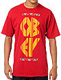 Obey The Right Thing Red T-Shirt