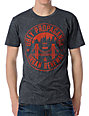 Obey Urban Renewal Charcoal & Orange T-Shirt