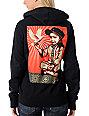 Obey Viva La Revolution Black Zip Up Hoodie