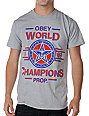 Obey World Champions Heather Grey T-Shirt