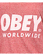 Obey Worldwide Family Red Tank Top