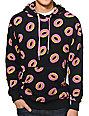Odd Future All Over Donut Black Pullover Hoodie
