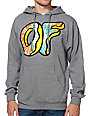 Odd Future Awesome Donut Heather Grey Pullover Hoodie