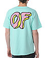 Odd Future Donut Mint Green T-Shirt