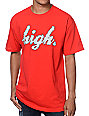 Odd Future High Clouds Red T-Shirt