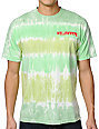 Odd Future Mellowhype Creep Green Tie Dye T-Shirt