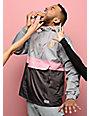 Odd Future OF Grey & Pink Anorak Jacket
