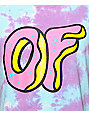 Odd Future OF Logo Tie Dye T-Shirt