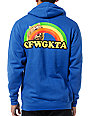 Odd Future Rainbow Cat Blue Pullover Hoodie