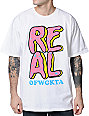 Odd Future x Real Skateboards OFRS Donut White T-Shirt