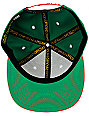 Official Cash Money Makers Green & Red Snapback Hat