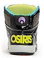 Osiris Kids NYC 83 SE Black & Heat Factor Skate Shoes