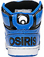 Osiris Kids NYC 83 Snorkle Black & White Shoes