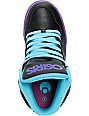 Osiris Kids NYC 83 Vulc Black, Teal & Purple Skate Shoe