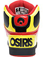 Osiris NYC 83 Black, Yellow & Red Shoes
