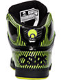 Osiris NYC 83 Black & Lime Shoes