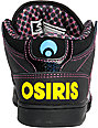 Osiris NYC 83 Mid Black & Dots Shoes