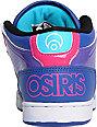 Osiris NYC 83 Mid Blue, Pink & Black Shoes