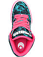 Osiris NYC 83 Slim Teal, Pink & White Shoes