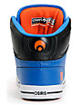 Osiris NYC 83 Vulc Baller Series Black, Orange & Blue Shoes