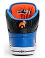 Osiris NYC 83 Vulc Baller Series Black, Orange & Blue Shoes