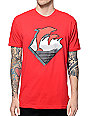 Pink Dolphin DMS Waves Red T-Shirt