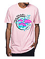 Pink Dolphin Enter The Wave Pink T-Shirt