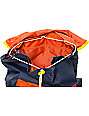 Poler Field Navy, Orange & Yellow 14L Backpack