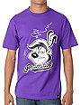 Primitive Clothing Skunked Purple T-Shirt