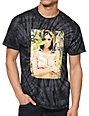 Primitive Paradise Black Tie Dye T-Shirt