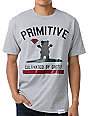 Primitive x Grizzly x Diamond Cultivated Grey T-Shirt