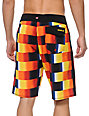 Quiksilver Red Rad Yellow, Red & Black 21 Board Shorts