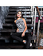 REBEL8 Curb Rats Grey Tank Top