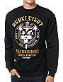 REBEL8 Eight Lives Left Black Crew Neck Sweatshirt