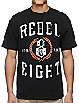 REBEL8 Laural Black T-Shirt