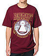 REBEL8 Root Of All Evil Maroon T-Shirt