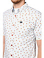 RVCA Avalon Grey Short Sleeve Button Up Shirt