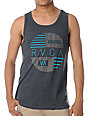 RVCA Blinds Charcoal Grey Tank Top