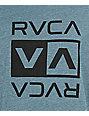 RVCA Double Flip Heather Navy T-Shirt