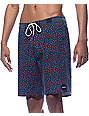 RVCA Particle Navy Board Shorts