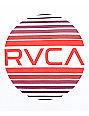 RVCA Sandborn Gradient White & Burgundy T-Shirt