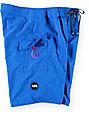 "RVCA Western Olympian Blue 21"" Board Shorts"