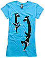 Ralik Ningiraffe Turquoise T-Shirt
