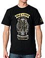 Real Skateboards Long Roller Black T-Shirt