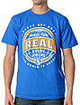Real Skateboards Ticket To Ride Blue T-Shirt