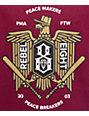Rebel 8 Makers & Breakers Maroon T-Shirt